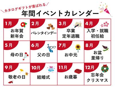 年間イベントカレンダー